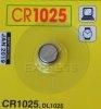 Piles CR1025 pour télécommandes de portail et garage