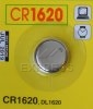 Piles CR1620 pour télécommandes de portail et garage