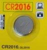 Piles CR2016 pour télécommandes de portail et garage