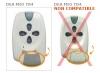 Telecommande DEA MIO TR4 -ROLLING-CODE- a 4 boutons