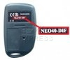 Telecommande JCM NEO40-DIF a 4 boutons