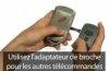Telecommande MARANTEC D212 WOOD-433 a 2 boutons