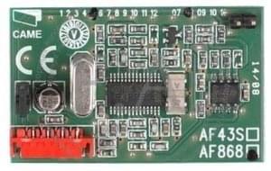 Scheda ricevente CAME AF868
