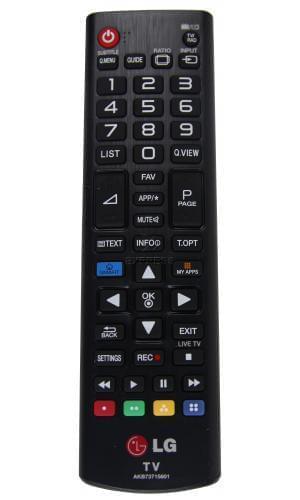 Telecomando lg akb73715601 tv for Telecomando smart tv