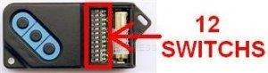 Telecomando FAAC 868DS-3 - 3