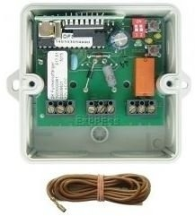Telecommande_abbrégé DICKERT RECEPT E17-40F202 a 2 boutons