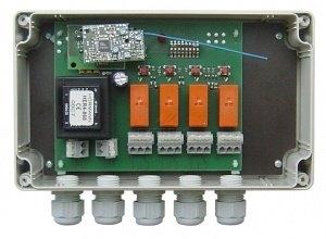 Telecommande_abbrégé HÖRMANN RECEPT HER4 868 MHZ - 230V a 4 boutons