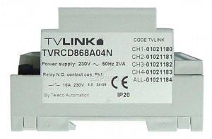 Telecommande_abbrégé TELECO RCD-868-A04N a 4 boutons