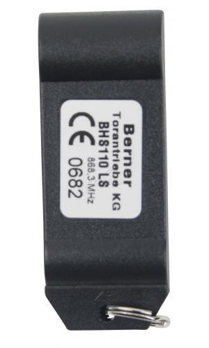 Telecommande_abbrégé BERNER BHS110 a 1 boutons