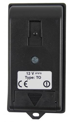 Telecommande_abbrégé BFT TO2 a 2 boutons