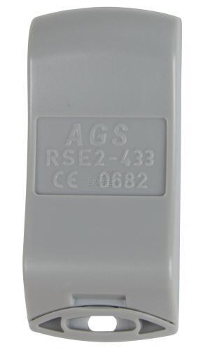 Telecommande_abbrégé ECOSTAR RSE2 a 2 boutons