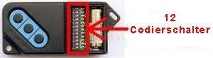 Telecommande_abbrégé FAAC 868DS-3 a 3 boutons