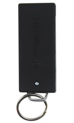 Telecommande_abbrégé LIFTMASTER TX4UNIS a 4 boutons
