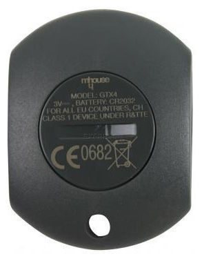 Telecommande_abbrégé MHOUSE GTX4 a 4 boutons