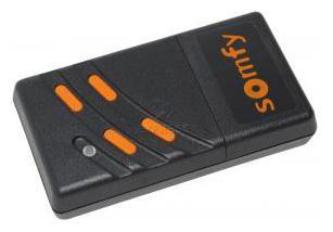 Telecommande_abbrégé SOMFY 26.975 MHZ 4K a 4 boutons