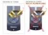 Telecommande_abbrégé BENINCA T2WK a 2 boutons