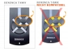 Telecommande_abbrégé BENINCA T4WV a 4 boutons