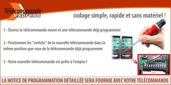 programmer telecommande switch