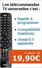 code telecommande universelle liste codes tv. Black Bedroom Furniture Sets. Home Design Ideas