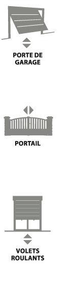 Portes de garage, portail, volets roulants