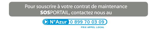 Pour souscrire � votre contrat sos portail, contactez nous au 0810 004 121