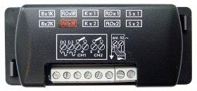 Récepteur pour télécommande nice FLO2-R extérieur: récepteur ne contenant des switchs