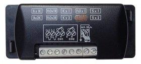 Récepteur pour télécommande nice FLO2 extérieur: récepteur contenant des switchs