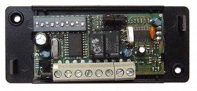 récepteur NICE pour télécommande NICE FLO2: intérieur. Il contient des switchs