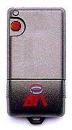 TELECOMMANDE BFT TRC1 : modèle noir rectangulaire à bouton rouge remplacé par le modèle BFT MITTO 2M