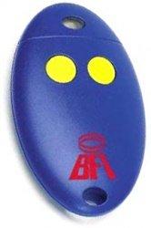 TELECOMMANDE BFT MITTO 2A : modèle bleu à boutons jaunes remplacé par le modèle BFT MITTO 2M